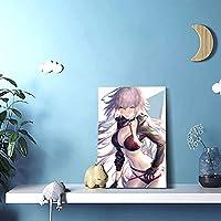 リビング絵アニメ漫画 (61)内装の絵画現代壁画装飾的な絵画壁掛け絵画(30 x 45)写真ポスター現代ポップアート油絵アートパネルウォールデコレーション絵画(リビングルーム、ダイニングルーム、ホテル、バー)