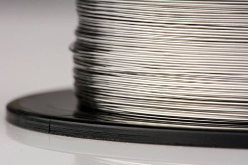 TEMCo Stainless Steel Wire SS 316L - 30 Gauge 25 FT Non-Resistance AWG ga