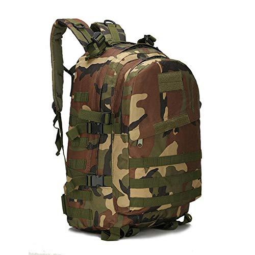 Greenpromise 55L 3D Tactique Militaire Sportives de Plein air Escalade Sac à Dos D'alpinisme Camping Randonnée Trekking Sac à Dos de Voyage en Plein air Sac, Motif Camouflage