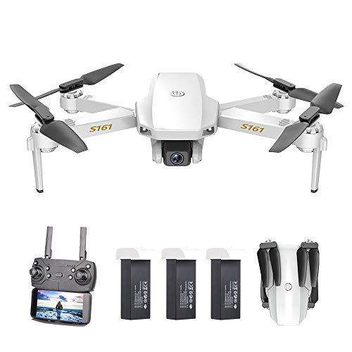 Goolsky S161 Mini PRO Drone con Fotocamera 4K Posizionamento del Flusso Ottico Doppia Fotocamera Altitudine Tenere Gesto Foto Video 3D Filp Traccia Vo