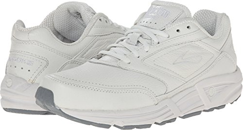 Brooks Men 's Addiction Walker Walking Zapato, color Blanco, talla 7 D
