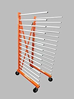 ThePaintLine Expandable Drying Rack for Commercial Painter and Cabinet Makers. Fit's Big Items Such as Newly Painted Doors and Bathroom/Kitchen Cabinets
