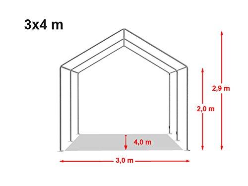 Stabiles Lagerzelt 3×4 m - 7