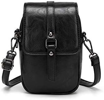 Women Vintage Crossbody Phone Bag Small Messenger Shoulder Bag Cash Handbag Wallet Purse product image