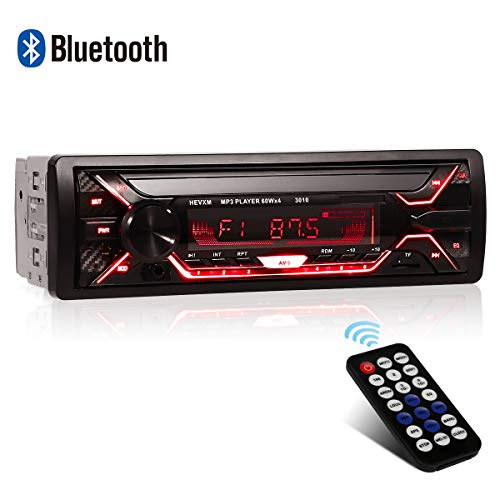 Car Radio, WesKimed Single DIN MP3 4X60W Car Stereo Receiver with Bluetooth...