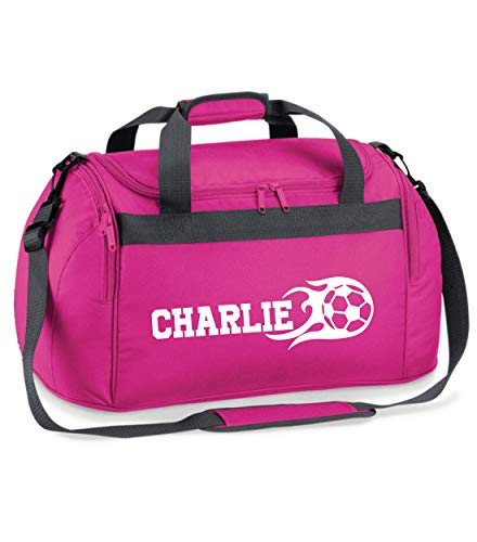 beyondsome Personalised Football Sports Holdall Soccer Club Duffel Bag Gift...