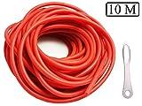Fionda Elastico Slingshot Catapulta Elastici,10m 3x6Mm di Professionale da Caccia Ricambio...