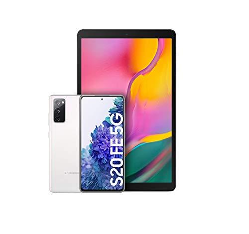 Samsung Galaxy S20 FE 5G Blanco + Galaxy Tab A, Tablet De 10.1\