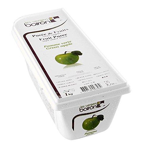 Püree - Grüner Apfel, Rhônetal, gezuckert, TK, 2x1 kg. insgesamt 2 kg.