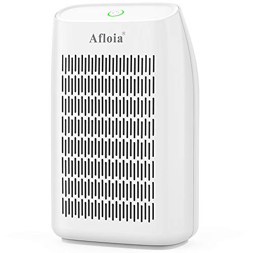 Afloia Home Dehumidifier, Quiet Small Portable Dehumidifier 24oz, (215 sq ft) with Auto Shut Off for Basement, Bathroom, Bedroom, Baby Room, RV and Office