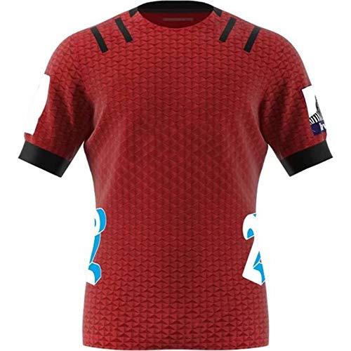USSU Crusǎděrs 2020 Home Americano fútbol Jersey Correr Traje Tradicional Ropa Rugby Jugador Jersey Ropa de Entrenamiento Desgaste Polo Camisa Extremo Deporte Rugby jugad Red...