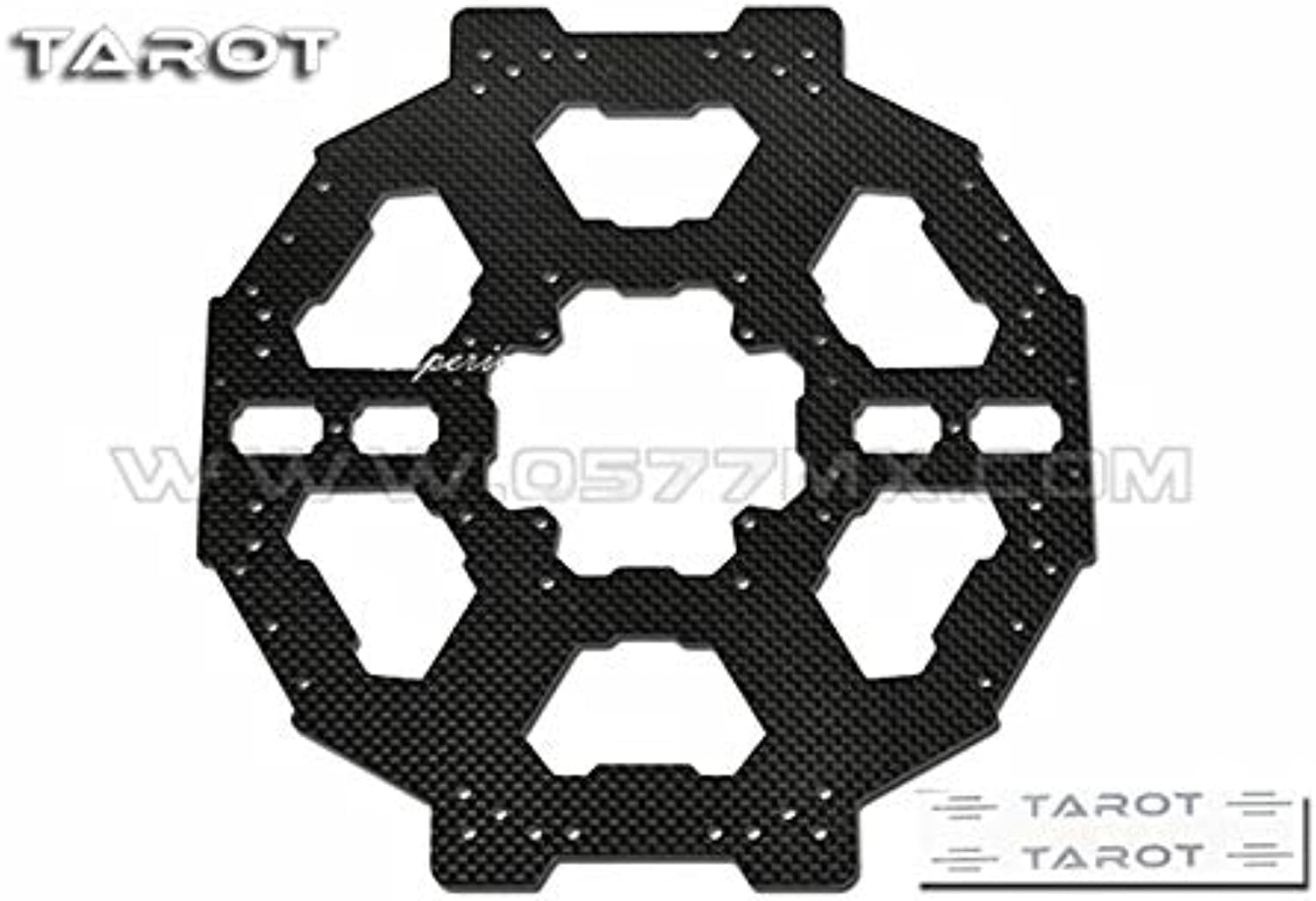 Generic Tared TL68B03 FY680 Foldable Hexcopter Carbon Fiber Main Plate Adapter Plate GSX