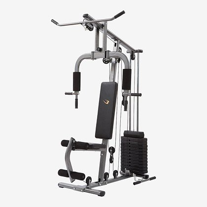 ボディメーカー(BODYMAKER) ホームジムDX TM066 プレート付(60kg) マルチジム 筋トレ 大型マシン ダンベル ベンチプレス トレーニングマシン 筋トレ 筋肉 ラック 自宅 握力 筋力トレーニング 下半身 筋力アップ 懸垂マシン