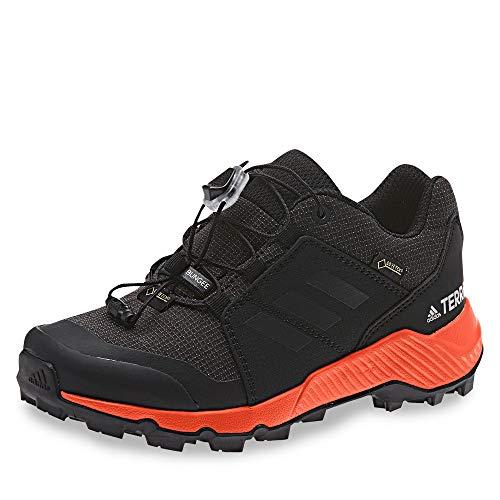 adidas Unisex Terrex GTX K Fitnessschuhe, Mehrfarbig (Negbás/Carbon/Naranja 000), 36 2/3 EU
