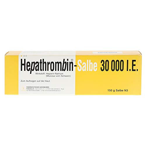 HEPATHROMBIN Salbe 30.000 150 g