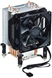 Cooler Master Enfriador Hyper h412r Pushpin 115x/2011/2066/FM1, Enfriador de CPU AMD Socket AM3(ph. II/ATH. II, RR de h411-mm, Buenos Deseos de B2