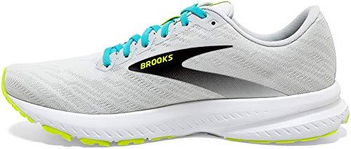 Brooks Launch 7, Scarpe da Corsa Uomo, White/Nightlife/Capri, 43 EU