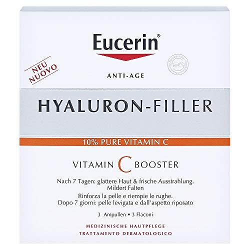Eucerin Hyaluron-Filler - Vitamin C Booster Siero Anti-Age, 3 pezzi