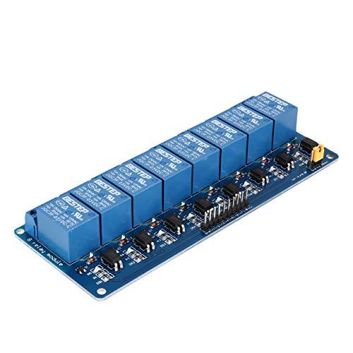 MUZOCT 2Pcs 8 canali Rel/è Modulo DC 5V con Optoaccoppiatore per Arduino Raspberry Pi