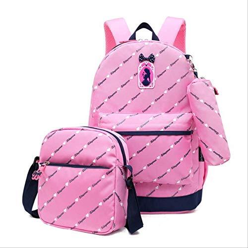 Children's BackpacksBLTLYXPara Las Niñas Escuela Mochila Niños Schoolbag Niños Mochila De Los Niños Mochila Mochila Mochilas 30 * 14 * 44 cm Rosa
