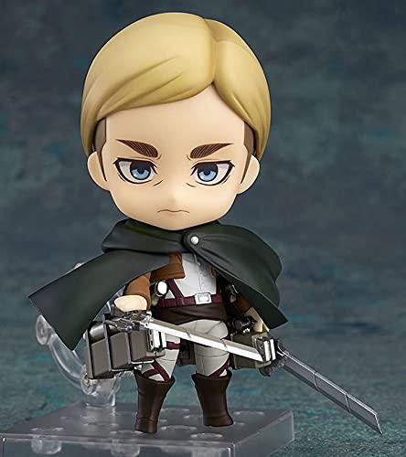 Attack On Titan Figur Erwin Smith Actionfiguren Spielzeug Sammlung Anime Modell Kinderspielzeug Puppe Geschenke 10Cm