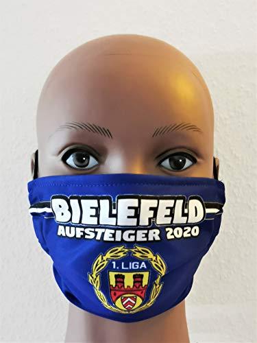 Bielefeld Maske, Bielefeld Vermummungsmaske, Bielefeld Aufstiegsmaske, Bielefeld Fußballmaske