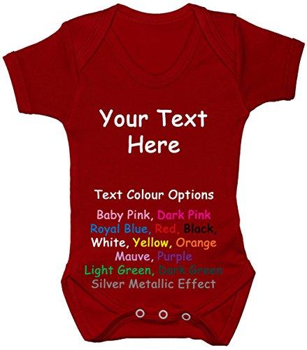 Baby-Body/Strampler/Weste/T-Shirt, 0 bis 24 Monate Gr. 50, rot