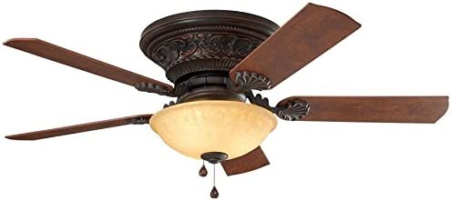 Harbor Breeze Lynstead Max 64% OFF 52-in Bronze Ceili Indoor LED Sales results No. 1 mount Flush