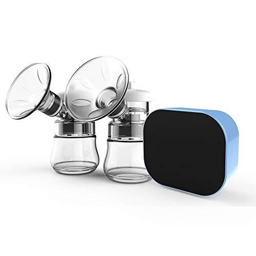 SODIAL Tiralatte Elettrico Intelligente Bilaterale Dispositivo di Pompaggio Del Seno Automatico Silenzioso un Grande Aspirazione Regolazione un 9 Velocità Antiriflusso