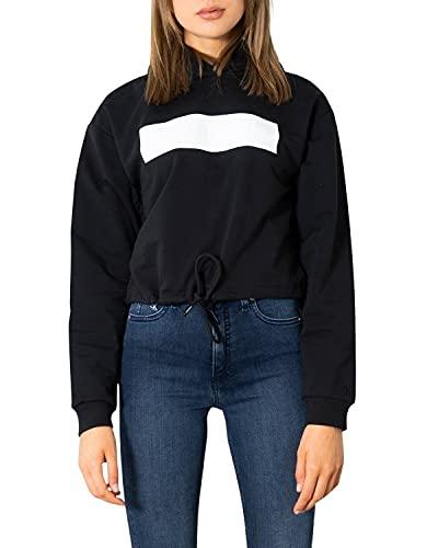 Calvin Klein Jeans Hero Logo Hoodie, BEH J20J216233 BEH CK Black/Bright White (M)