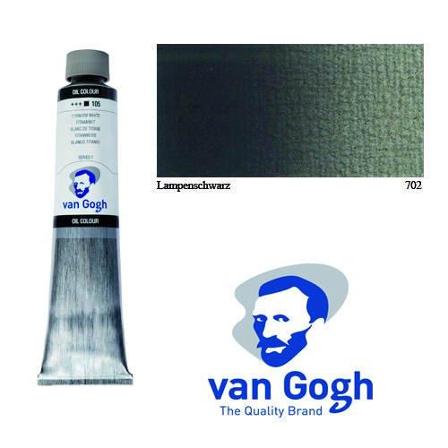 Van Gogh Ölfarbe, 200 ml, Lampenschwarz [Spielzeug]