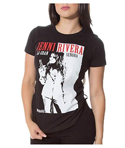 APPLIERTLY Women's Jenni Rivera Funny Tshirt S