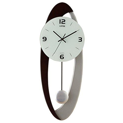 horloge murale Regarder l'horloge Horloge de Salon créative Moderne Style européen Horloge Pendule d'art Personnalité de Mode Simple Mute l'horloge (Couleur : #2)