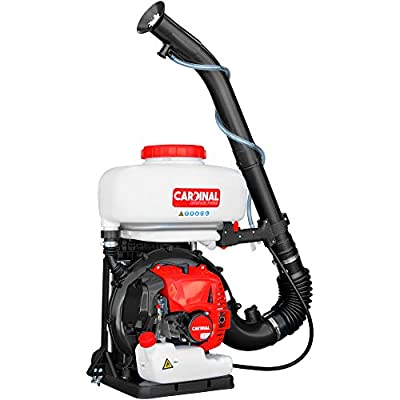 3HP Backpack Fogger Blower Duster Leafblower 3-in-1 Sprayer with 3.5 Gal Chemical Tank for Pest Control (CMD65)