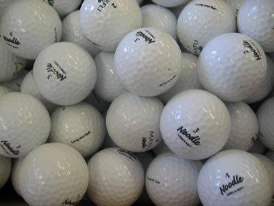 Lakeballs Maxfli Noodle Golfbälle, Qualität AAA, 40 Stück