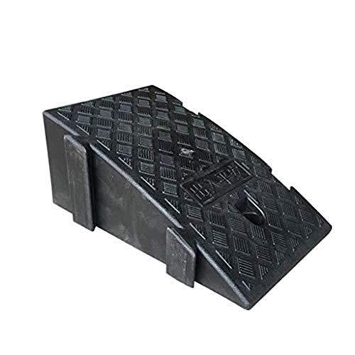 AGWa Gummi-Auto Curb Ramps Krankenhaus Rollstuhl-Rampe, 16cm / 19cm tragbare Triangular Slope-Pad, Gemeinschaftspark Mall Threshold High Load Ramp Threshold Ramp Kit Set für Driveway- 1P,Schwarz,25 *