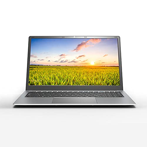 15.6 inch Laptop Notebook Computer PC, Full HD 1920 x 1080, Windows 10 Pro OS, Intel J4115 Quad Core CPU, Long Lasting Standby, 8GB RAM 128GB SSD, Full Size Chocolate Keyboard, WLAN, Z36