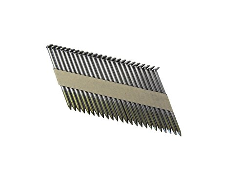 Grip Rite Prime Guard GRP12ZHGH1 30 Degree Paper Tape Offset Round Head Exterior Galvanized Collated Framing Nails, 3-1/4