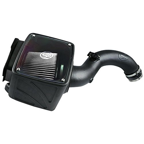 S&B Filters 75-5101D Cold Air Intake For 2001-2004 Chevy/GMC Duramax LB7 6.6L (Dry Extendable Filter)