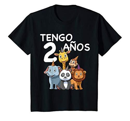Niños Niños 2 Cumpleaños - Regalo de 2 Años Para Niños y Niñas Camiseta