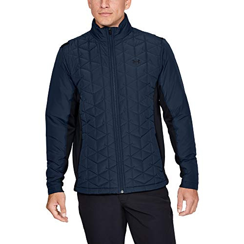 Buy Discount Under Armour Coldgear Reactor Elements Hybrid Jacket, Academy (408)/Black, Large