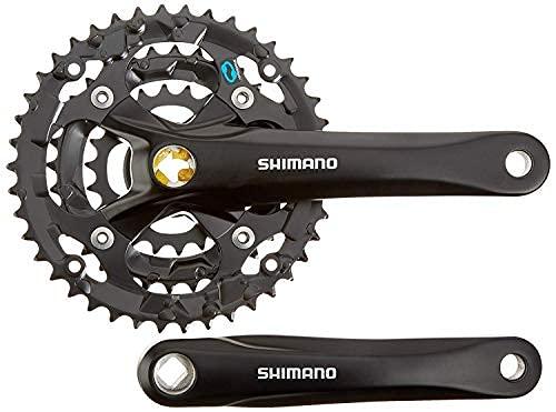 JKSPORTS ShimanoALTUS FC-M361 6-8 Speed Square Taper Crankset 42-32-22T 175MM 170MM MTB Bike (42-32-22T 170MM)