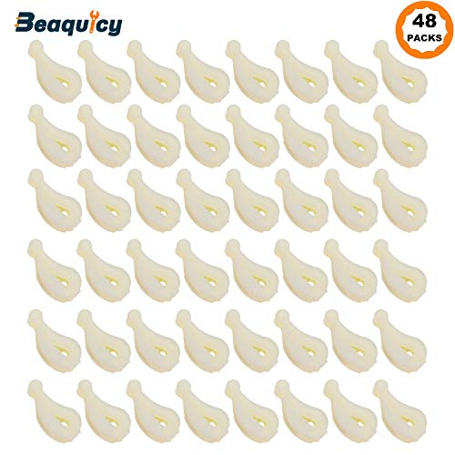 80040 Washer Agitator Dogs Kit by Beaquicy - Replacement for Whirlpool Kenmore Washing Machine (48-pack)
