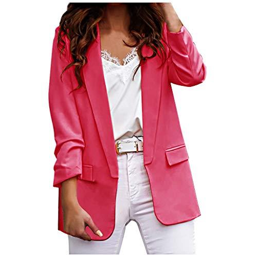 manadlian Blouson Femmes Filles Veste Chic Manteau pour Automne Veste Court Sweat-Shirt Femmes Printemps Outerwear Manches Longues Hiver