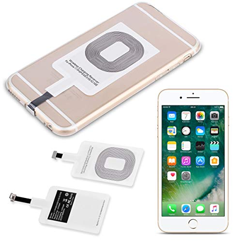 UC-Express QI Wireless Ladestation kompatibel für Apple iPhone 6s 6s Plus Kabellos Charger Induktives Universal Receiver Empfänger