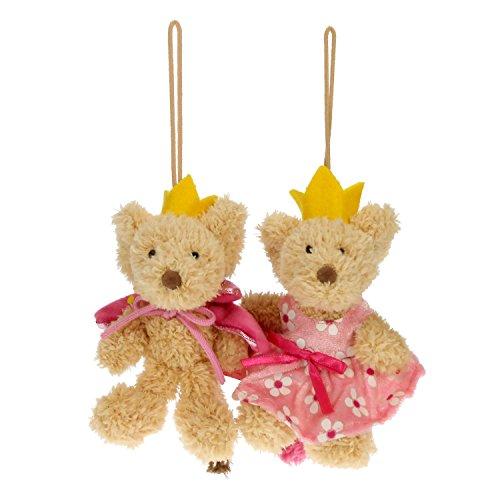STEINBECK Lillebi Plüsch Prinz Prinzessin Kuscheltier 12 cm Plüschtier Maus Mädchen Kuschelmaus