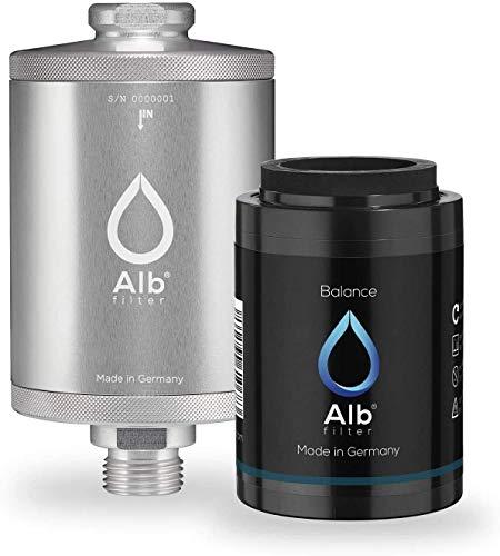 Alb Filter® Balance Duschfilter Set. Schadstoffe reduzieren zB Chlor, Schwermetalle. Made in...