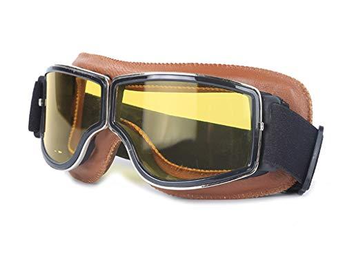 Blisfille Gafas Proteccion Polvo Gafas Trabajo Hombre,Marrón