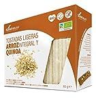Tostadas Ligeras Arroz Integral Y Quinoa Soria Natural Bolsa Hermética 85 G (25 X 3.4 G)/Estuche.