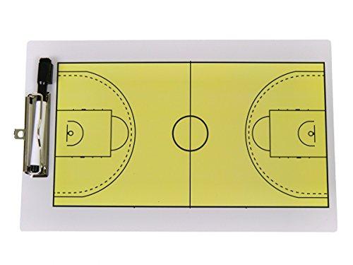 POWERSHOT® Doppelseitiges Taktikboard Basketball (34 x 23 cm)